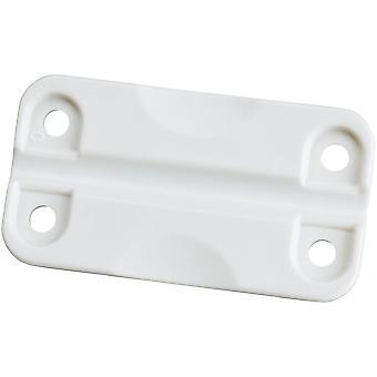 IGLOO ersätter Standard plast svalare gångjärn - vit