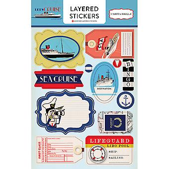 Let's Cruise Layered Stickers-  LC65025