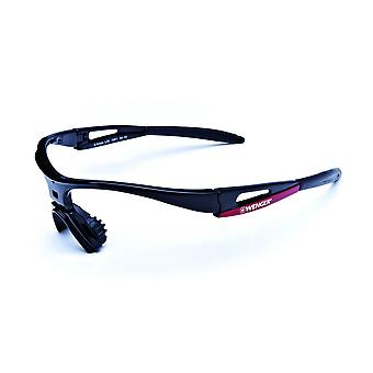 Wenger X-Kross sport frame base frame OF1001. 04 Shiny black-red / black
