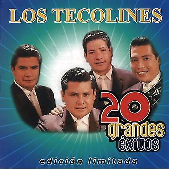 Los Tecolines - 20 Grandes Exitos (Segunda Edicion) [CD] USA import