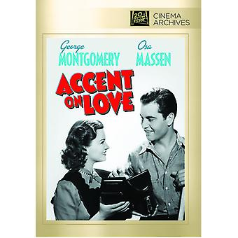 Accent on Love [DVD] USA import