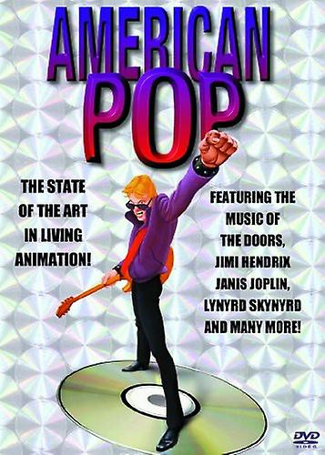 American Pop [DVD] USA import