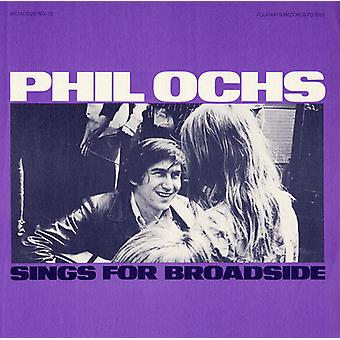 Phil Ochs - Vol. 10-Broadside Ballads Phil Ochs canta per l'importazione USA Broa [CD]