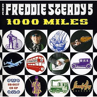 Freddie Steady 5-1000 Miles [CD] USA importerer