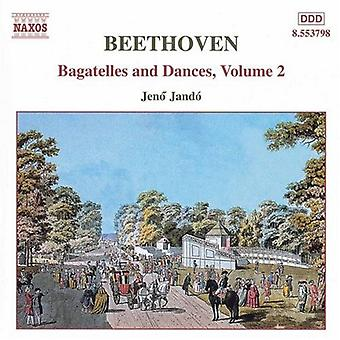 Larsen Beethoven - Beethoven: Bagateller og danse, Vol. 2 [CD] USA import