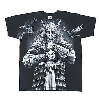 VIKING WARRIOR T-Shirt Wrap - Black