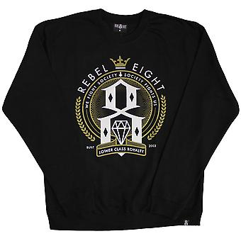 REBEL8 Lower Class Royalty Sweatshirt Black