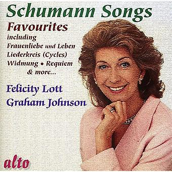 R. Schumann - Schumann: Favourite Songs [CD] USA import