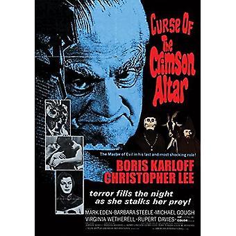 Forbannelse av Crimson alteret [DVD] USA import