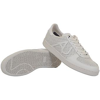 Armani Jeans A6566 White Leather Trainer