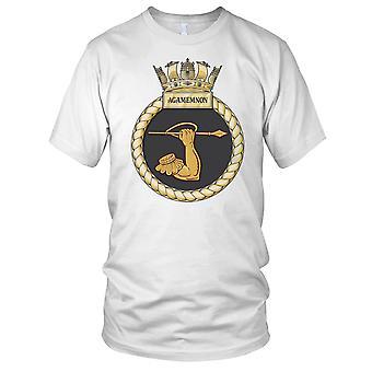 Royal Navy HMS Agamemnon Kids T Shirt