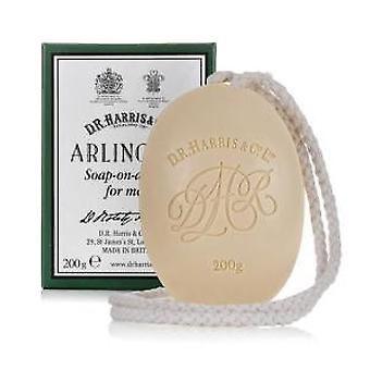 D R Harris Arlington Soap on a Rope 200g