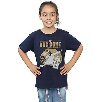 Looney Tunes Girls Foghorn Leghorn Dog Gone T-Shirt