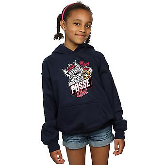 Tom And Jerry Girls Posse Cat Hoodie