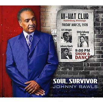 Johnny Rawls - Soul Survivor [CD] USA import