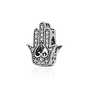 Sterling silver charm hand of Fatima SCC225