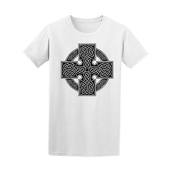 Celtic Cross Traditional Ornament Men's Tee - Image by Shutterstock