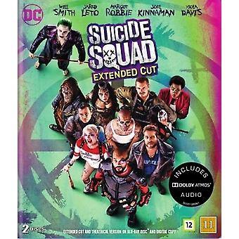 De suicide Squad Extended Cut (Blu-ray)