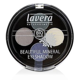 Lavera Beautiful Mineral Eyeshadow Quattro - # 08 Edgy Tones - 4x0.8g/0.026oz