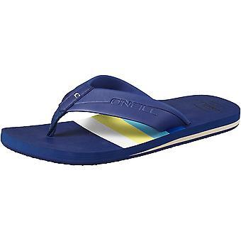 O'Neill Mens FM Imprint Graphic Pattern Toe Post Flip Flops Sandals