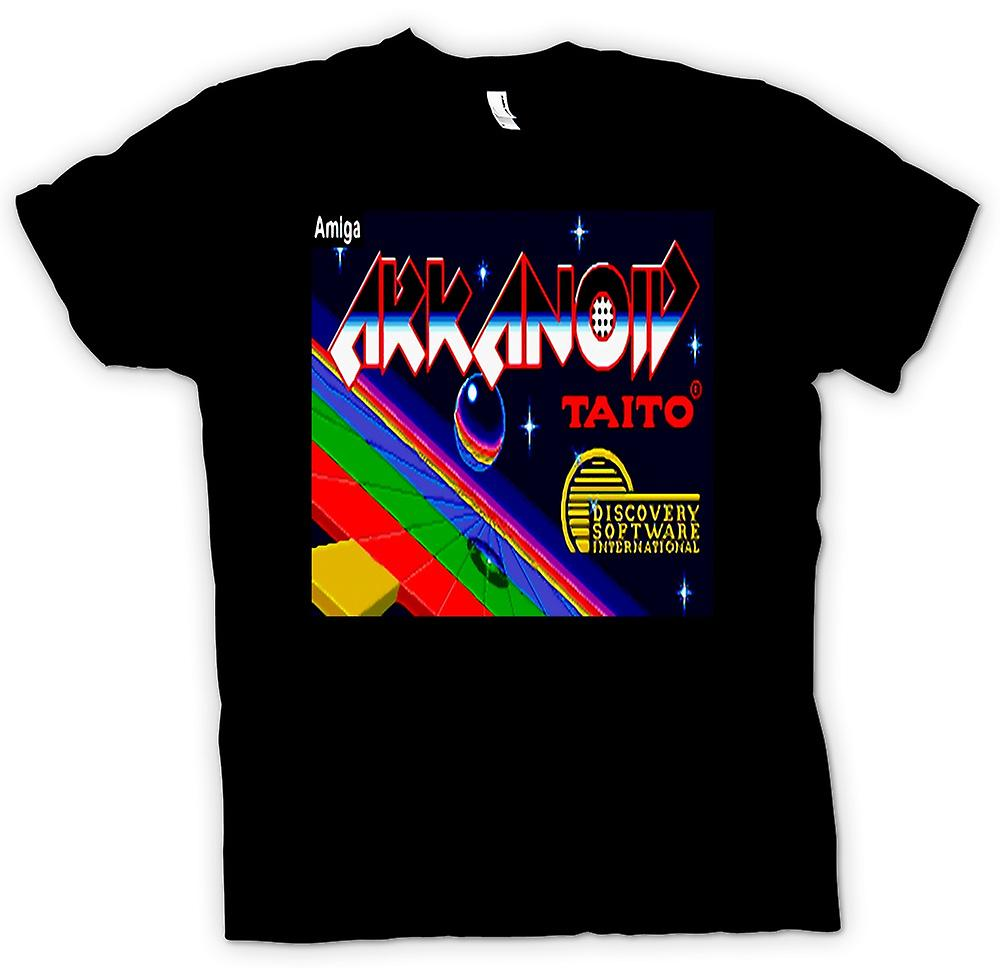 Mens t-shirt - Arkanoid Taito - retrò Amiga