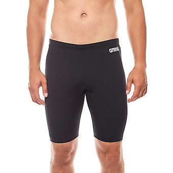 arena solid Jammer men's swimwear black slim fit