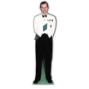 Prins Philip 1956 Lifesize pap påklædningsdukke