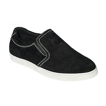 West Coast choppers shoes outlaw suede ideas black