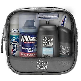 Dove Travel Case 6 Parts (Hygiene and health , Travel Kit)