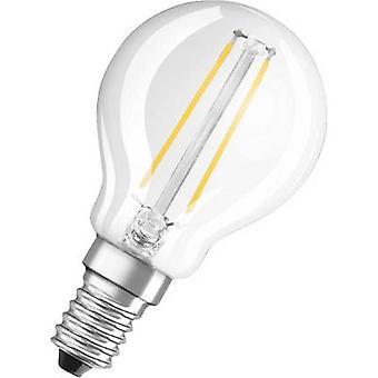 OSRAM LED CEE base-congelador a ++ (A ++ - E) E14 gota 2,8 W = 25 W Warm white (Ø x L) 45 mm x 78 mm filamento 1 PC