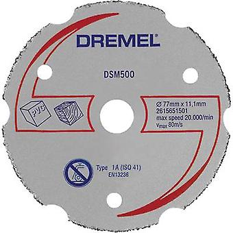 DREMEL® DSM20 Multipurpose Carbide Cutting Wheel (DSM500) Dremel 2615S500JA Diameter