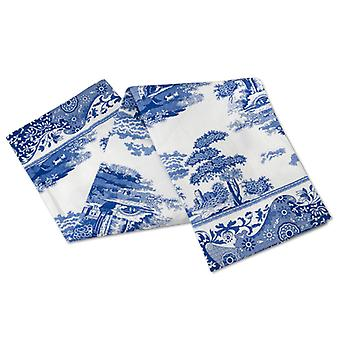 Portmeirion Blue Italian Tea Towel