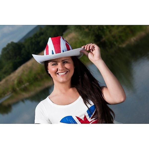 Union Jack Wear Union Jack Cowboy Hat