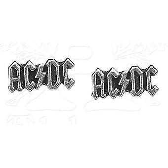 Pendientes Logo de AC/DC