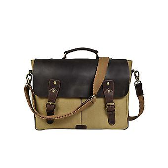 Premium Leather Mate Laptop Bag