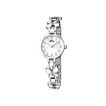 Lotus klockor damer titta på smycken bandet 15829-1