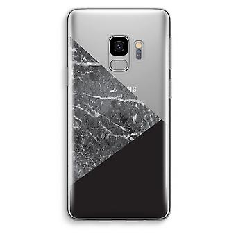 Samsung Galaxy S9 Transparent Case (Soft) - Marble combination