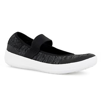 Fitflop FitFlop Womens Uberknit Mary Jane Trainers (Black)