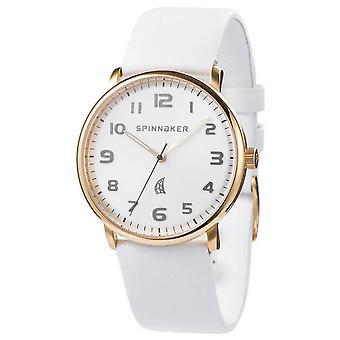 Spinnaker Nantucket Watch - White/Gold
