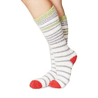 Cloud women's soft & fluffy dress socks   Recycled polyester! By Braintree