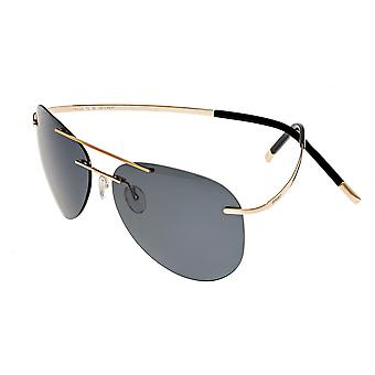 Breed Luna Polarized Sunglasses - Gold/Black