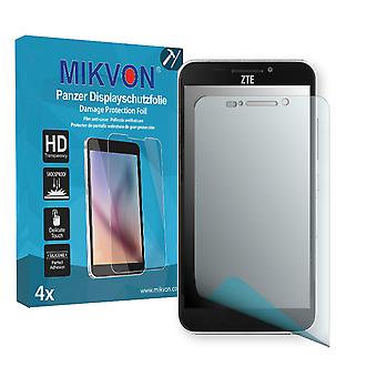 ZTE Grand S II Lte Screen Protector - Mikvon Armor Screen Protector (Retail Package with accessories)