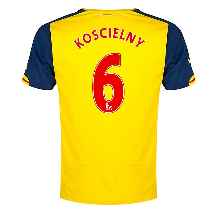 2014-15 arsenal Away skjorta (Koscielny 6) - barn