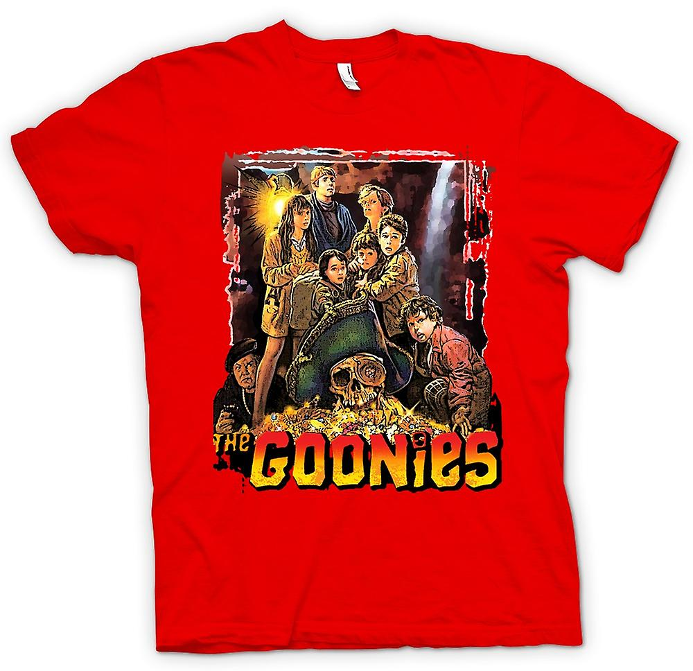 Mens T-shirt - The Goonies Treasure - Movie
