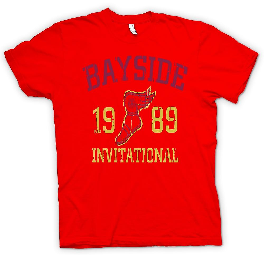 Mens T-shirt - Bayside Invitational 1989 - Funny