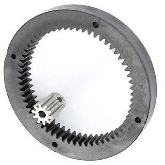 Inner gear ring Modelcraft No. of teeth: 60, 10 Gear reduction: 6:1