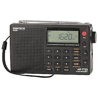 TechBrands PLL World Band Alarm Radio