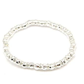 The Olivia Collection Sterling Silver Bead Bracelet