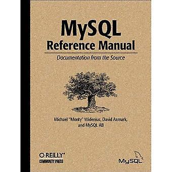 MySQL Reference Manual: Documentazione dall'origine