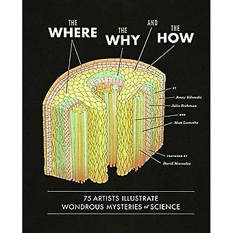 Missä, miksi ja miten: 75 taiteilijat kuvaavat ihmeellinen salaisuudet tiede